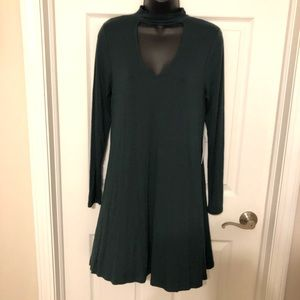 Express Cotton Stretch Dress (with neck band)